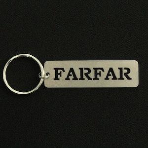 Nyckelring Farfar