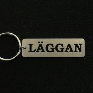 Nyckelring Läggan