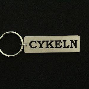 Nyckelring Cykeln