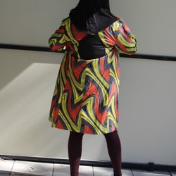 MULTICOLOURED COAT