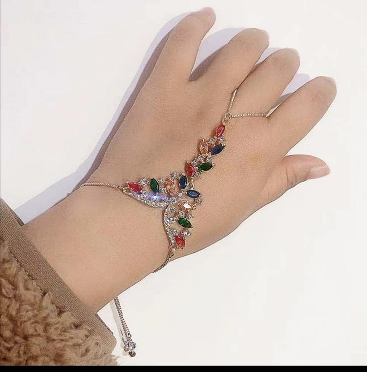 Gold plating Link Chain Bracelet
