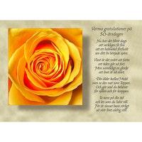 Varma gratulationer på 50-årsdagen