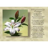 Varma gratulationer på 70-årsdagen