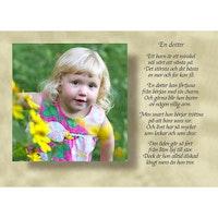 En dotter
