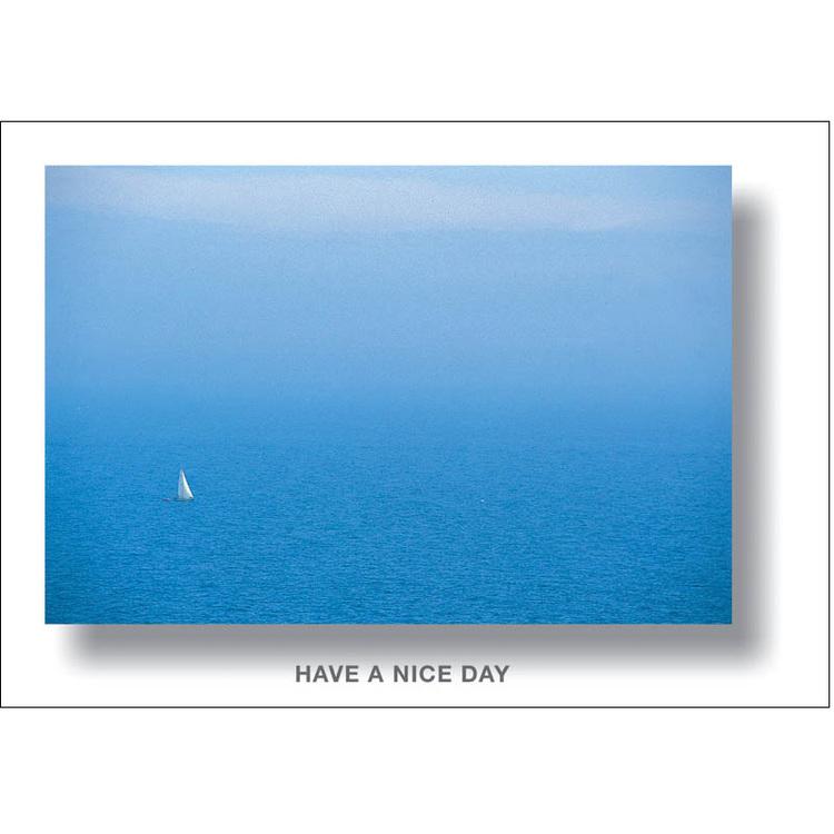 Vykort. segelbåt på hav. Foto: Per Johansson - Joanzon. Kortbutiken säljer detta vykort.