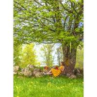 Sommar under trädet