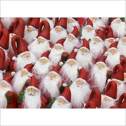 Julkort - Jultomtar i massor