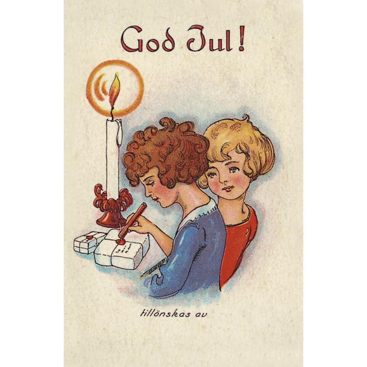 1235 God Jul -minikort