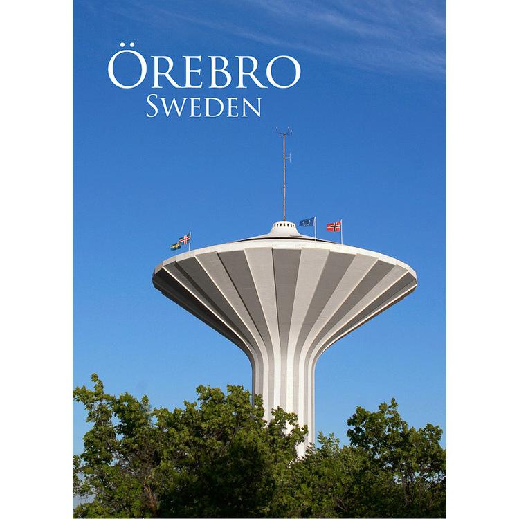 Vykort. Örebro  Svampen. Foto: Per Johansson - Joanzon. Kortbutiken säljer detta vykort.