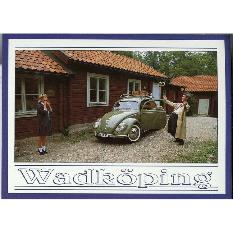 Vykort Örebro Wadköping Volkswagen. Foto: Per Johansson - Joanzon. Kortbutiken säljer detta vykort.