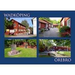 Vykort - Örebro - Wadköping