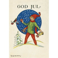1232 God Jul – minikort
