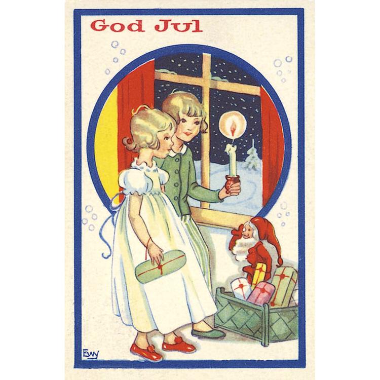 1234 God Jul – minikort