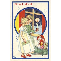 1234 God Jul – minikort