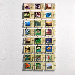 Ställ för vykort - 24 platser