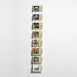 Ställ för vykort - 8 platser