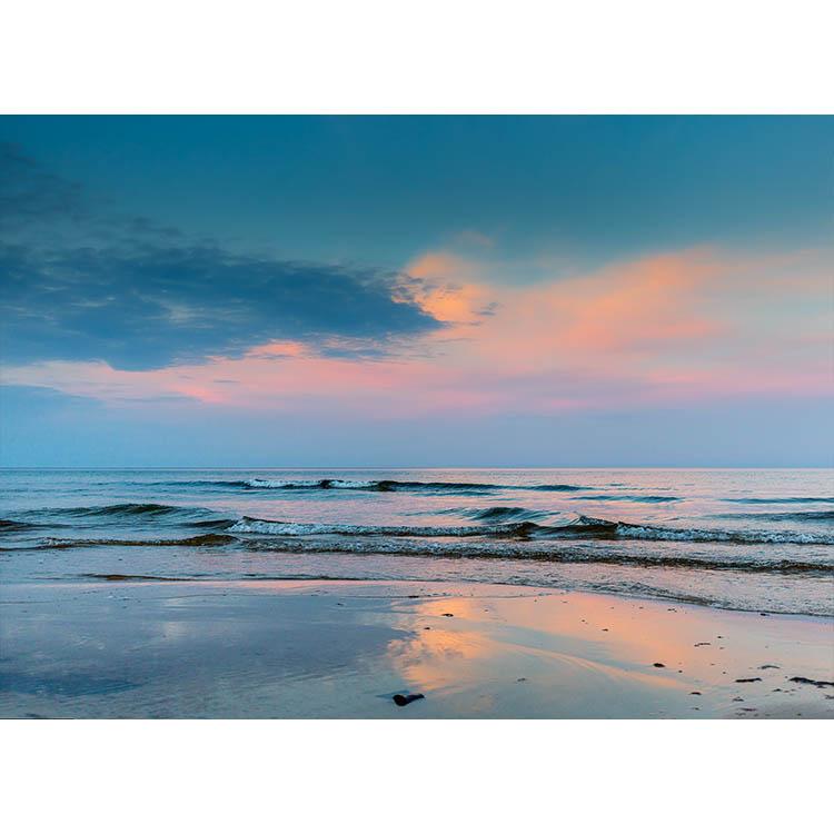 Solnedgång på Österlen