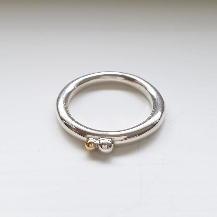 """Ring """"Simple two"""""""