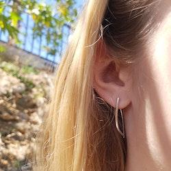 "Örhängen ""leaf"" mindre"