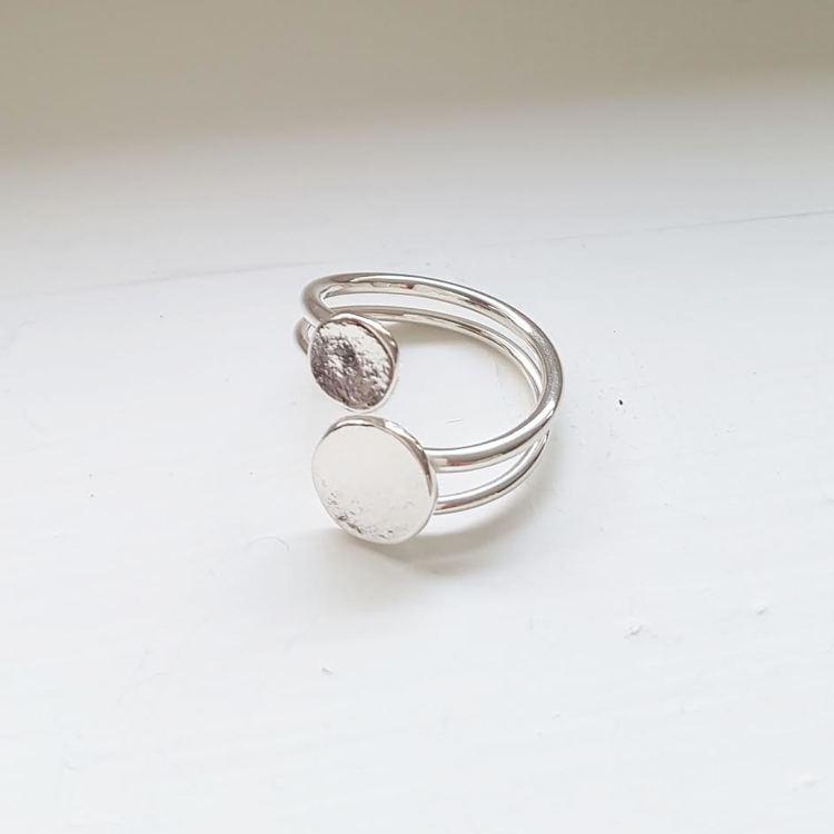 "Ring ""spegling"""
