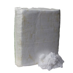 Vit bomullstrassel Vikt: 25 Kg