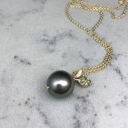 Tahitiäpple med diamanter