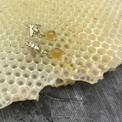 Honungsbi med citrin