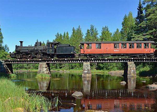 Tågresa 20 juni
