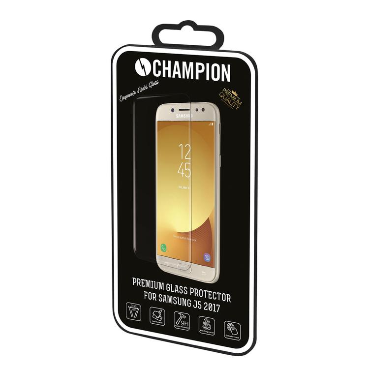 CHAMPION Skärmskydd Härdat Glas  - Galaxy J5 2017