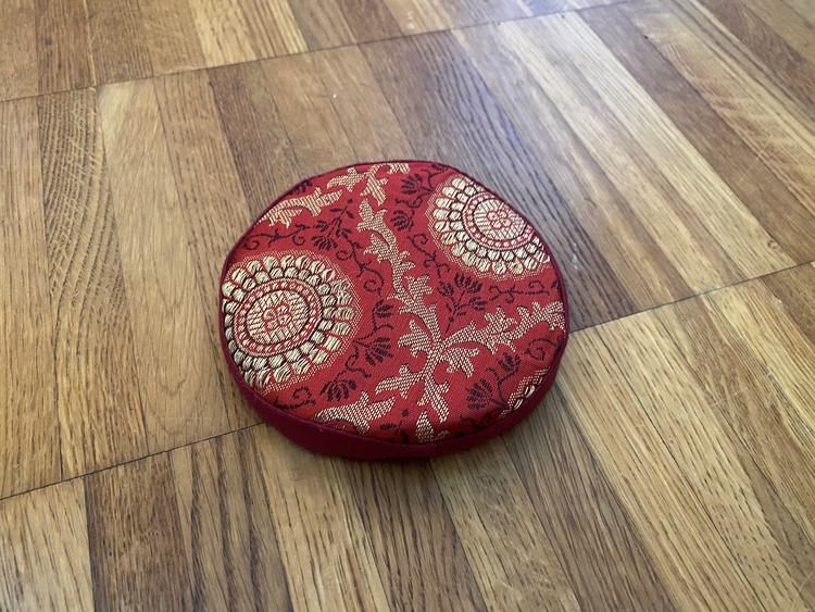 Kudde till Klangskål - Röd - 10cm