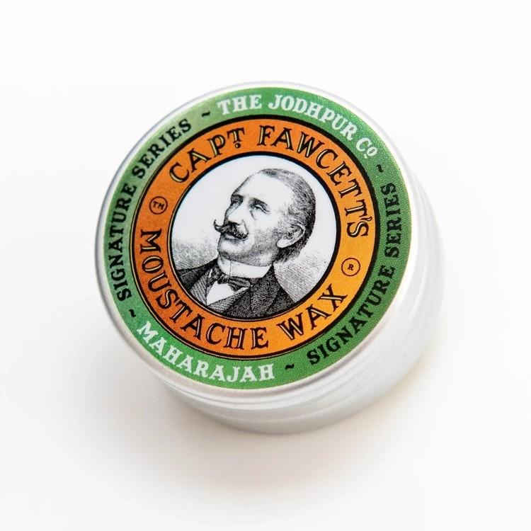 Captain Fawcett - Moustache Wax Maharajah - 15 gram