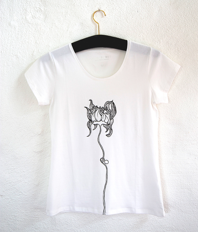 Handmålad t-shirt