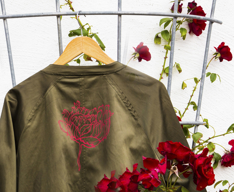 """Motiv """"Red rose"""""""