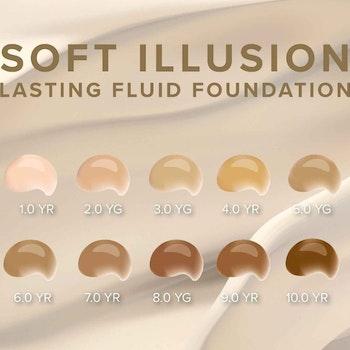 Soft Illusion Lasting Fluid Foundation