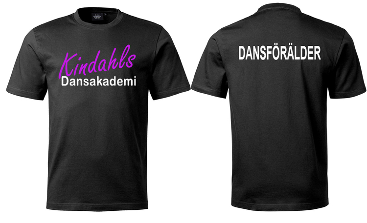 T-shirt dansförälder