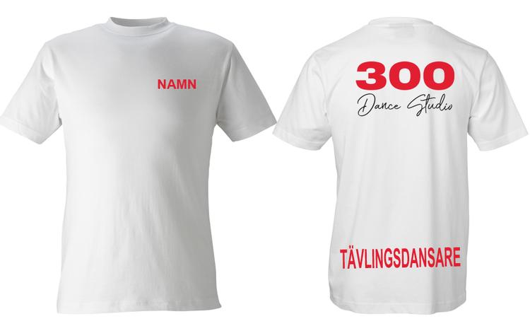 T-shirt tävlingsdansare