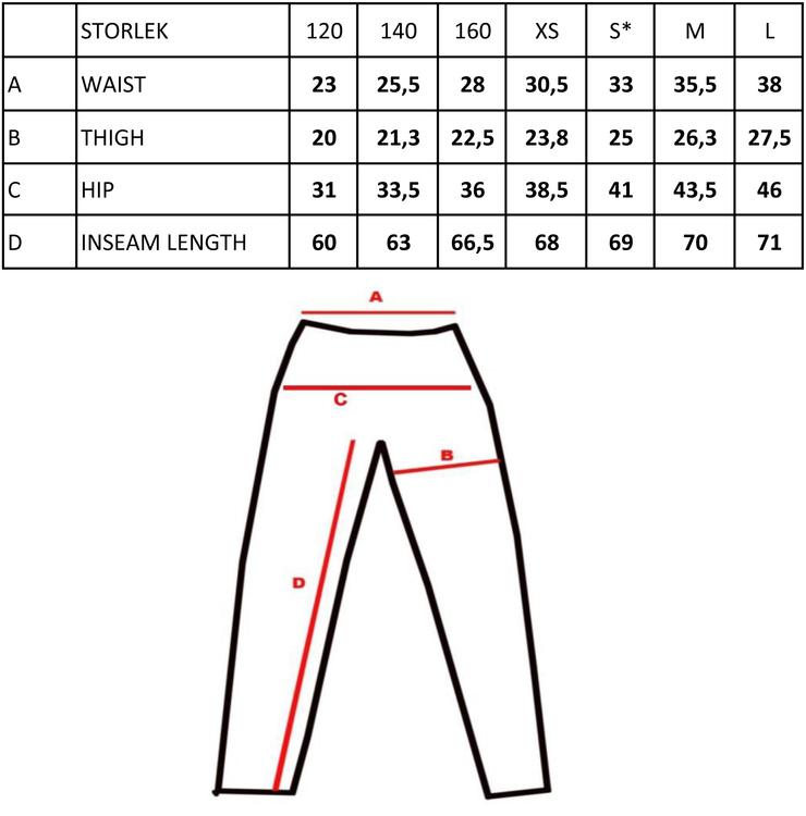 Långa tights