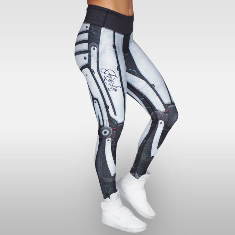 Robota Compression Leggings White