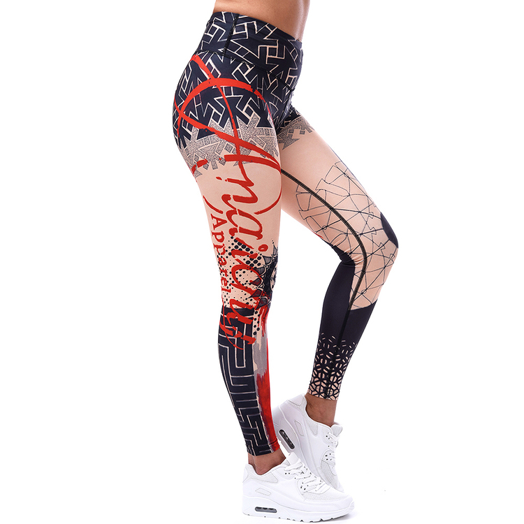 Trash Polka Compression Leggings