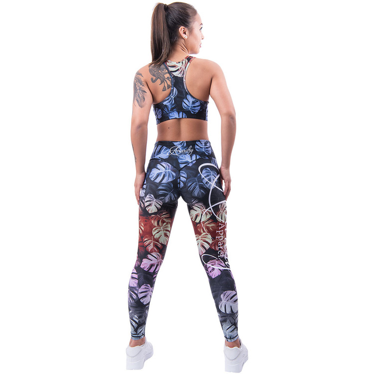 Monstera Leggings