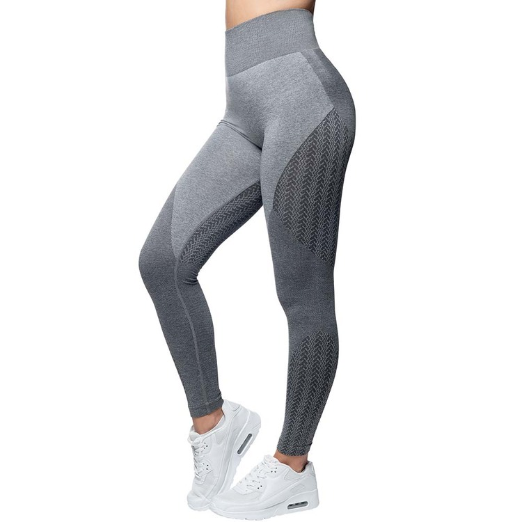 Wabisabi Seamless Leggings Taupe Gray