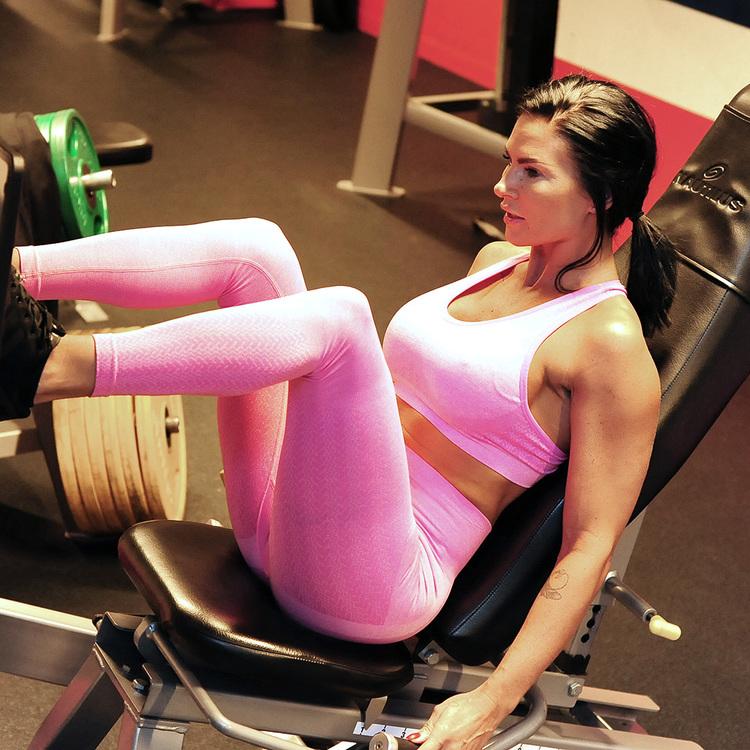 Wabisabi Seamless Bra Electric Pink