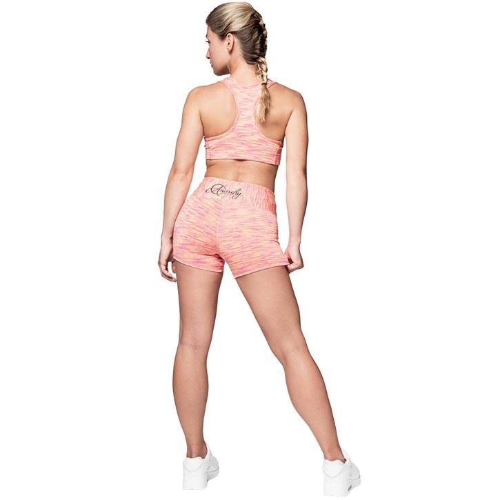 Cushy Hotpants Pink/Yellow