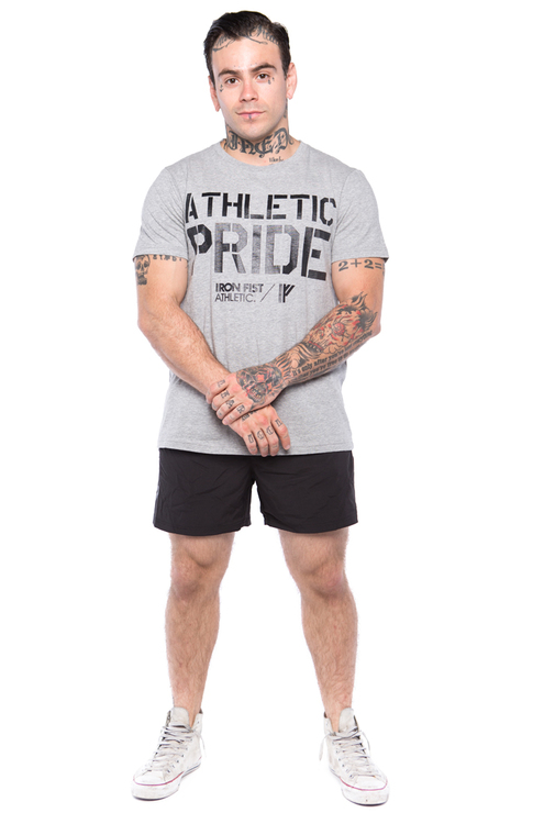 Iron Fist Athletics Mens 2 in 1 Shorts M