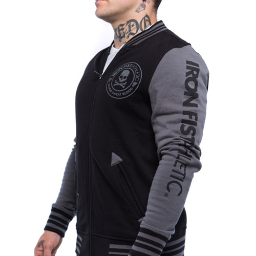 Iron Fist Athletics Mens Varsity Jacket M