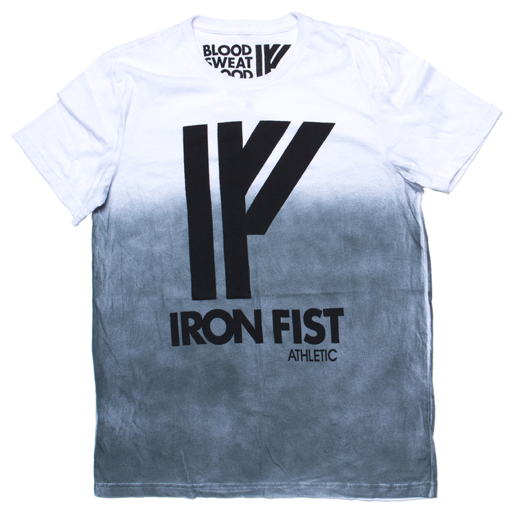 Iron Fist Athletics Men Logo Tee M