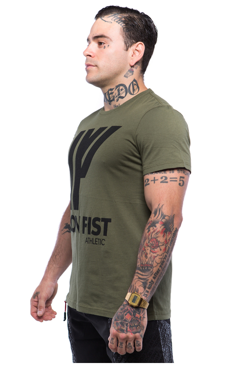 Iron Fist Athletics Mens Logo Tee M
