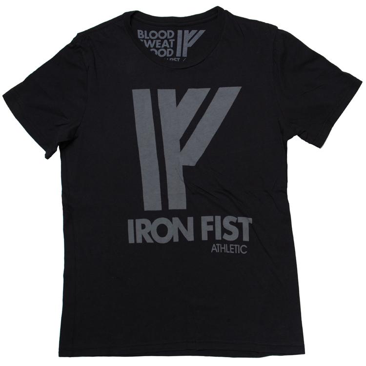 Iron Fist Athletics Mens Logo Tee M