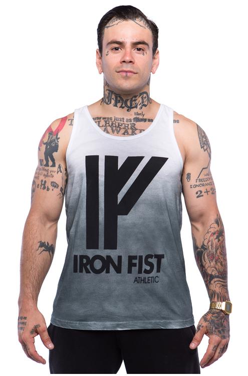 Iron Fist Athletics Mens Logo Tanktop M