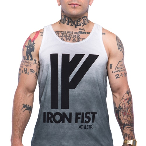 Iron Fist Athletics Mens Logo Tanktop M